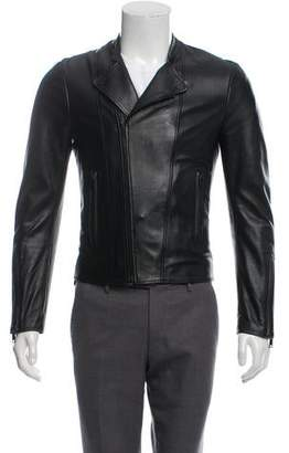 Balenciaga Double-Rider Leather Jacket