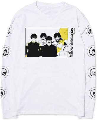 Yellow Submarine Men's Long Sleeve T-Shirt by Hybrid Apparel