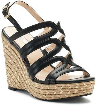 JLO by Jennifer Lopez Birch Strappy Wedge Sandals