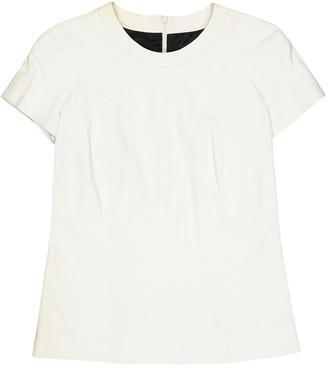 Barbara Bui White Leather Tops
