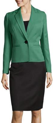 Le Suit Long Sleeve 1-Button Skirt Suit