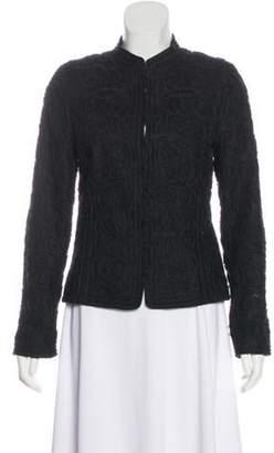 Ellen Tracy Linen Structure Jacket Black Linen Structure Jacket