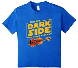 Join The Dark Side Viola Player T-shirt