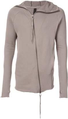 Army Of Me off centre zip sweatshirt