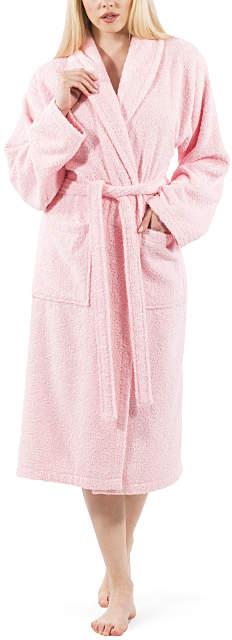 Pink Terrycloth Bathrobe - Adult