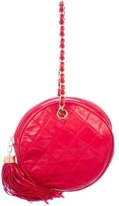 Chanel Quilted Circle Handle Bag