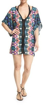 Nanette Lepore Habanera Printed Caftan Coverup $168 thestylecure.com