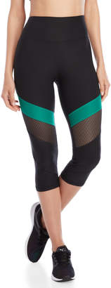 C&C California Marathon Mesh Capri Leggings
