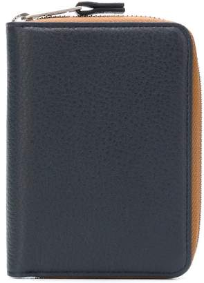 Maison Margiela contrast zipped wallet