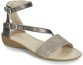 Dorking 7863 women's Sandals in Grey