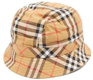 Burberry Nova Check Bucket Hat - Womens - Beige