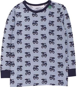 Green Cotton Fred's World by Boy's Bulldozer T T-Shirt, (Blue 016401301)
