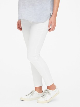 Gap Maternity Demi Panel True Skinny Ankle Jeans
