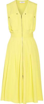 Mugler - Cloqué Dress - Bright yellow $1,540 thestylecure.com