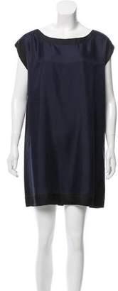 Brochu Walker Silk Colorblock Dress