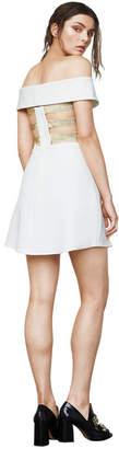 BCBGMAXAZRIA Carolyn Off-The-Shoulder Dress