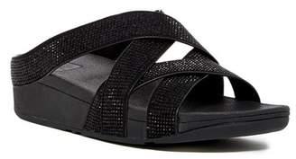 Fitflop Skinny Rokkit Slide Sandal $100 thestylecure.com