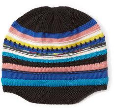 MissoniMissoni Wool Striped Knit Beanie