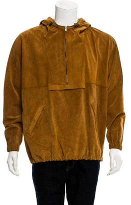 Maison Margiela 2017 Suede Pullover Jacket w/ Tags