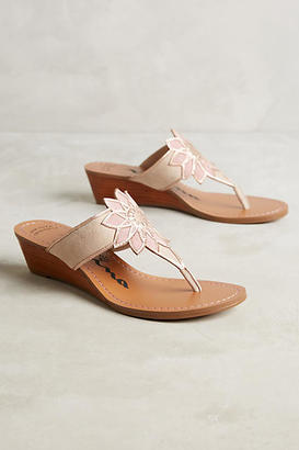 Nina Originals Verbena Wedge Sandals $138 thestylecure.com