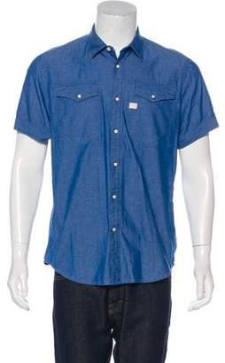 G Star Tacoma Snap-Front Shirt