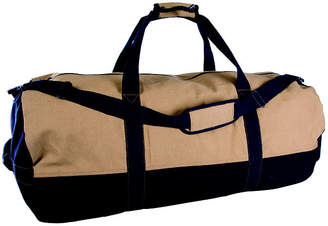 STANSPORT Stansport Two-Tone Canvas Duffle Bag With Zipper - (18 x 36)