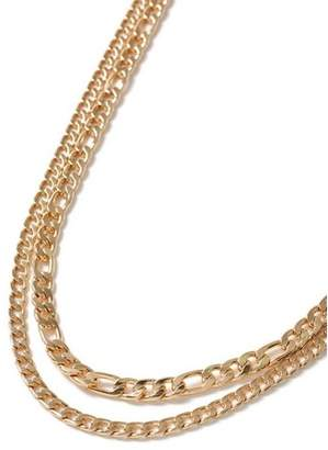 Topman Mens Gold Multi-Row Necklace*