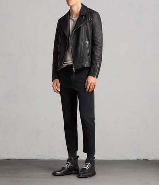 AllSaints Taro Leather Biker Jacket