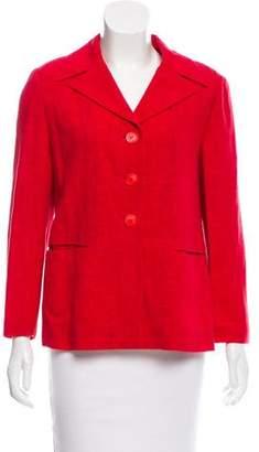 Marni Linen & Wool-Blend Blazer