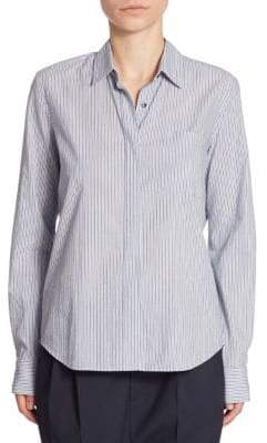 Vince Striped Fitted Shirt