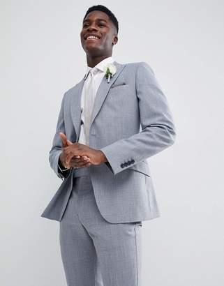 Reiss Slim Wedding Suit Jacket In Wool Mix