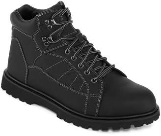M·A·C Big Mac Mens Benton Slip Resistant Work Boots Lace-up