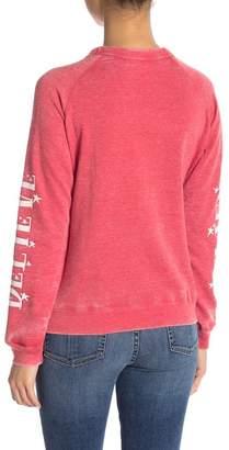 Freeze I Believe Mickey Graphic Sweatshirt