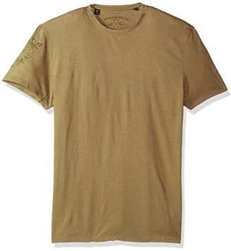 Buffalo David Bitton Men's Talain Short Sleeve Crew Neck Fashion Graphic T-Shirt