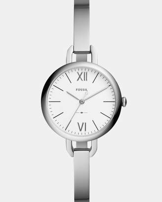 Fossil Annette Silver-Tone Analogue Watch