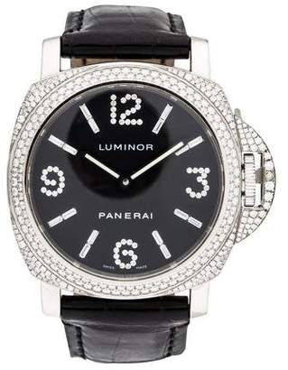 Panerai Limited Edition Luminor Diamanti Watch