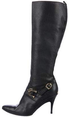 Roberto Botticelli Leather Knee Boots