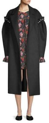 Mother of Pearl Webb Wool& Pearl Coat
