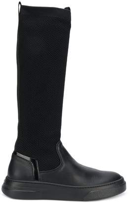 Bruno Bordese stretch knee high boots