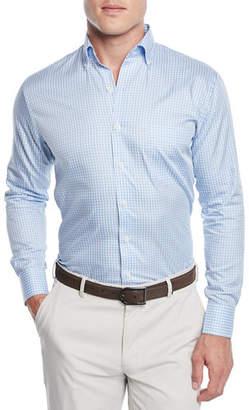 Peter Millar Men's Crown Soft Gingham Dress Shirt