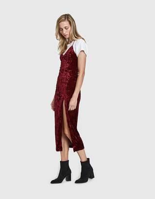 Farrow Amandine Velvet Dress