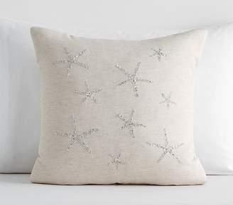 Pottery Barn Kids Sparkle Starfish Pillow