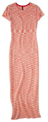 labworks Petites Short-Sleeve Sweater Maxi Dress - Pink