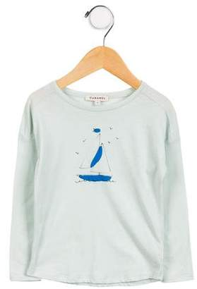 Caramel Baby & Child Girls' Long Sleeve Graphic Top w/ Tags