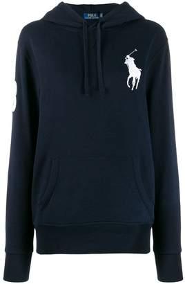 Polo Ralph Lauren oversized logo hooded sweater