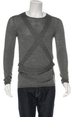 Burberry Wool & Silk Pullover Sweater