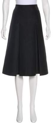 Charles Chang-Lima Knee-Length A-Line Skirt