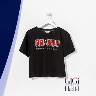 Tommy Hilfiger Cotton Cropped T-Shirt Gigi Hadid