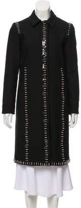 Giambattista Valli Studded Knee-Length Coat