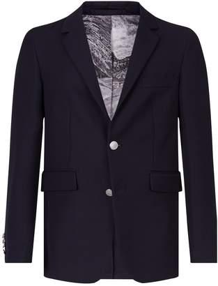 Burberry Gabardine Single-Breast Jacket
